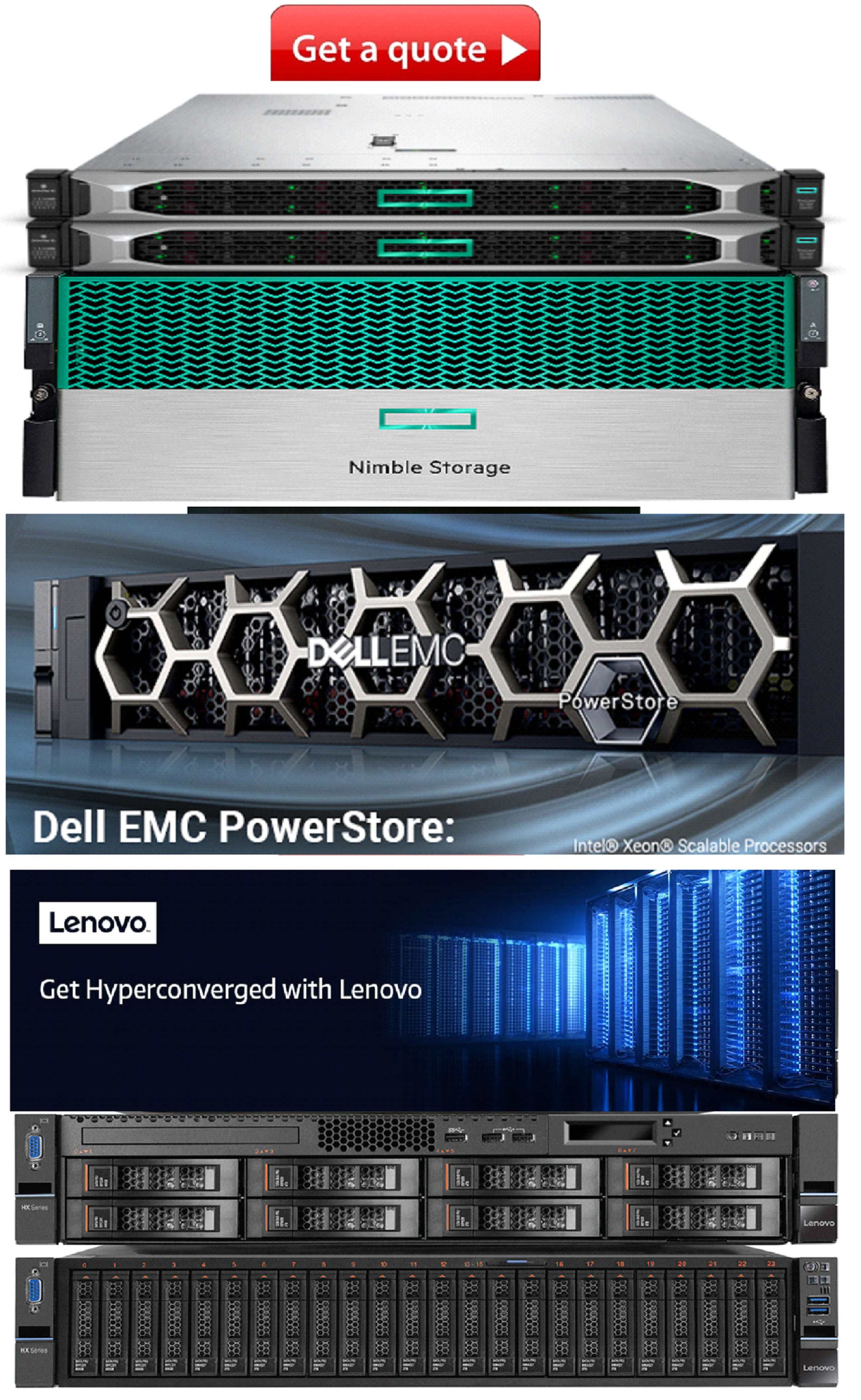 HPE Nimble Storage and drives
